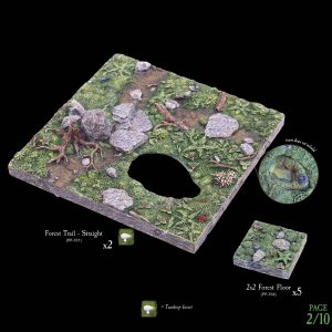 7-A182 Heart of the Forest Add-on set 2