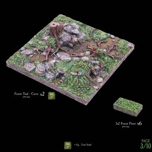 7-A182 Heart of the Forest Add-on set 3