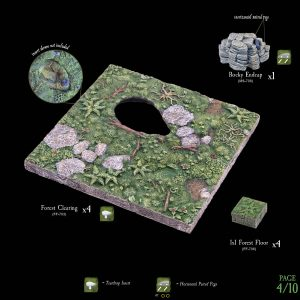 7-A182 Heart of the Forest Add-on set 4