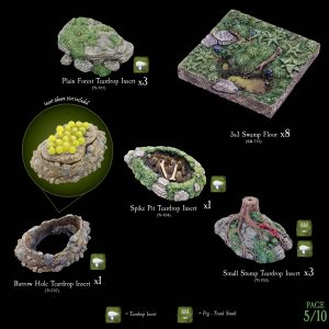 7-A182 Heart of the Forest Add-on set 5