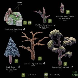 7-A182 Heart of the Forest Add-on set 6