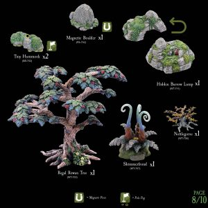 7-A182 Heart of the Forest Add-on set 8