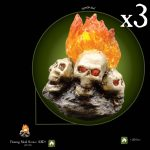 3.85 Mil Flaming Skill Sconce x3 Stretch Goal
