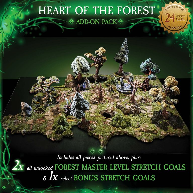 7-A182 Heart of the Forest Add-on set 1