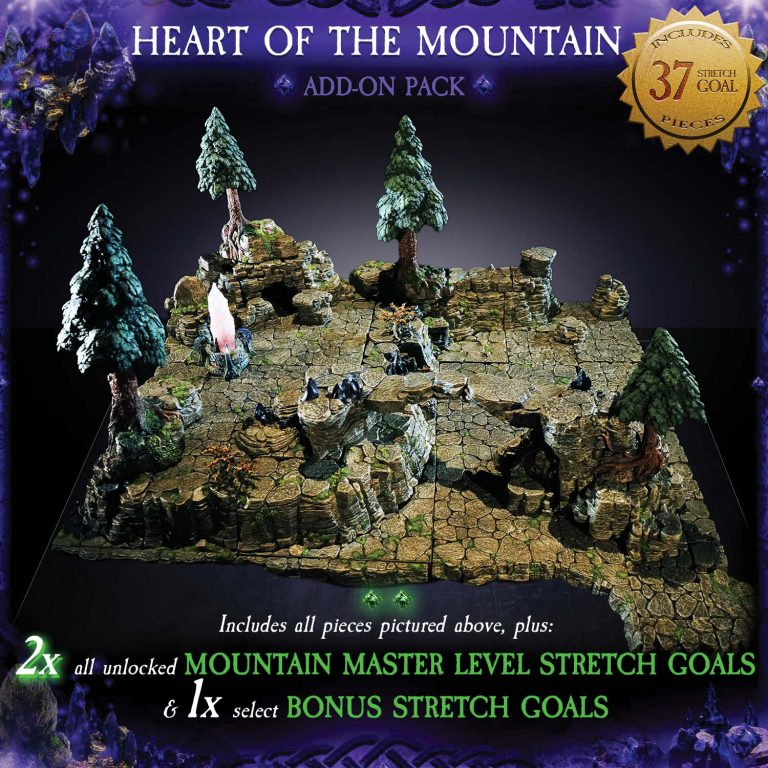 7-A183 Heart of the Mountain Add-on set 1