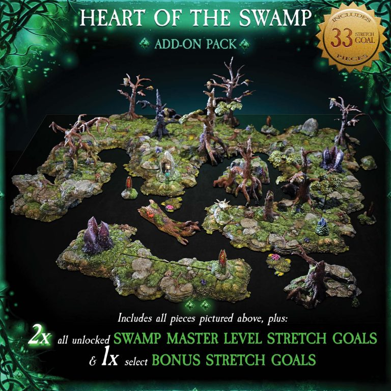7-A184 Heart of the Swamp Add-on pack 1