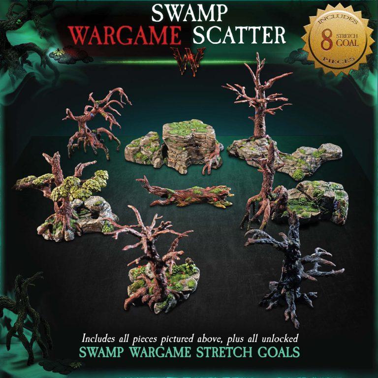 WARGAME SCATTER - SWAMP 1