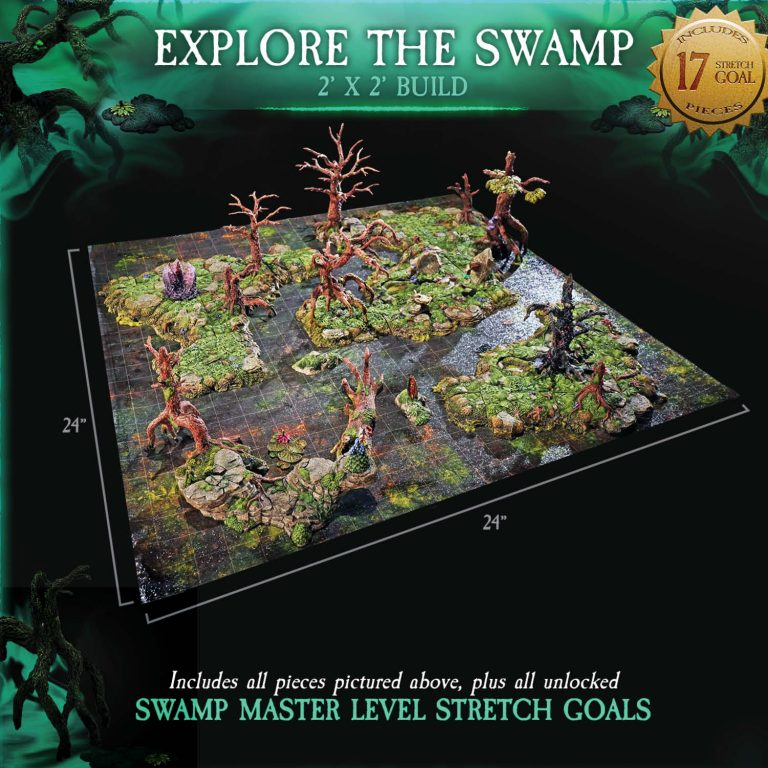 EXPLORE THE SWAMP 1