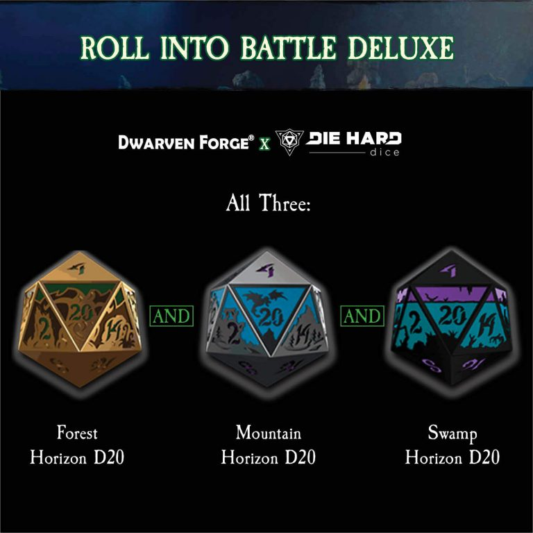 Roll into battle pledge product shot