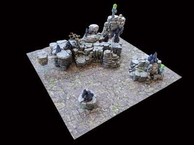 Mountain 12x12 Sample Build 1