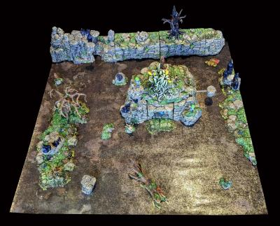 Swamp Mountain 24x24 Build 2