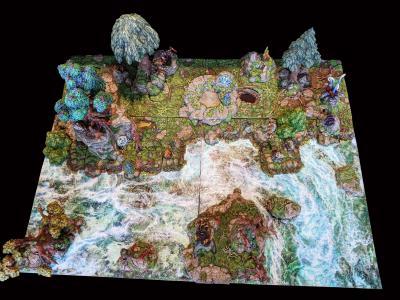 Forest 24x24 Sample Build Sculpt Floor 2