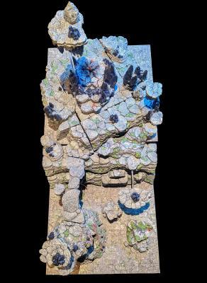 Volcanic Nexus build overhead view