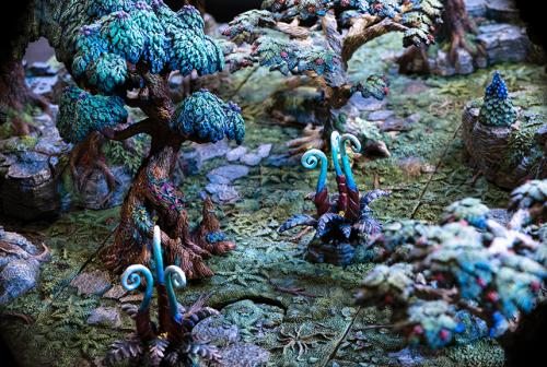 The otherworldly Faerie glade
