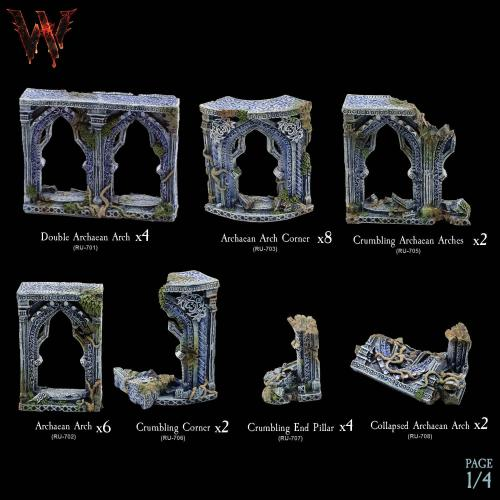7-A134 Ruins of Cailentyr Megapack 1