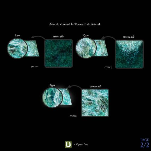 7-A239 Raging River Terrain Tray Multipack gridless option Image 2 of 2