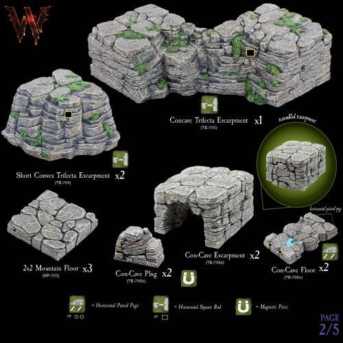 7-A173 Escarpments Megapack 2