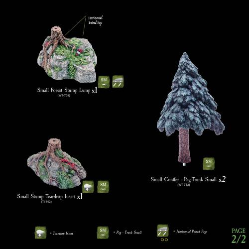 CONIFER TREE PACK 1