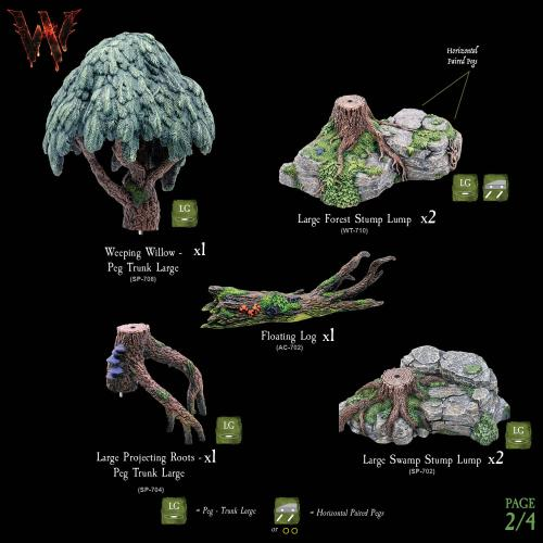 7-A177 Wildlands Trees - Mega Pack 2