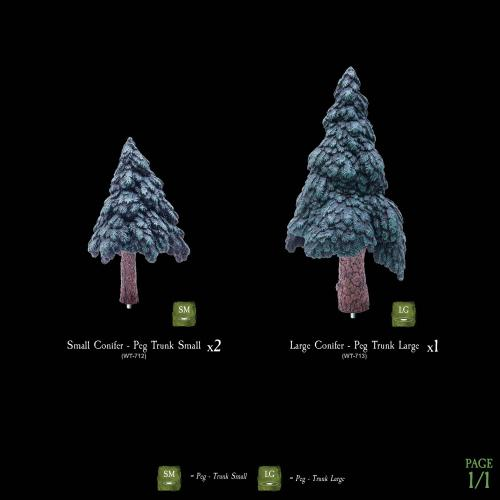 7-A186 Conifer Tree Toppers