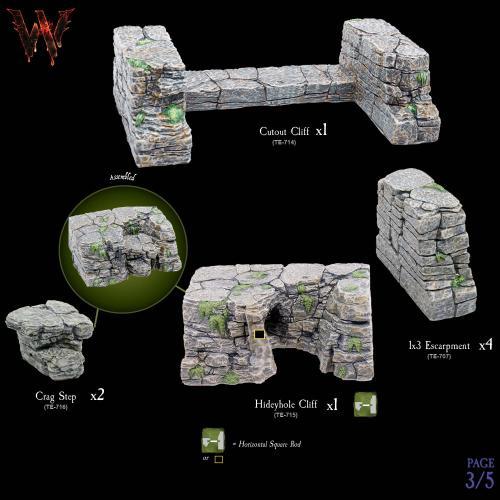 7-A173 Escarpments Megapack 3