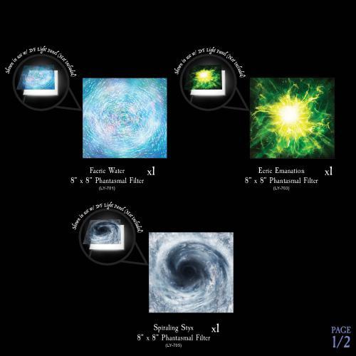 7-A211 Eldritch Energies - Phantasmal Filters Pack Image 1