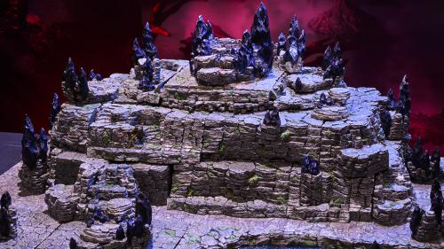 Wyverstone topped tor built with the Escarpments Megapack