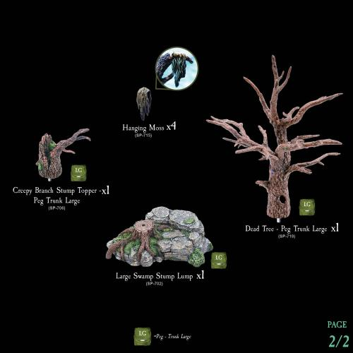 7-A115 Dead Trees Pack 2