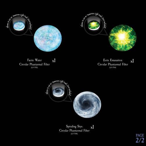 7-A211 Eldritch Energies - Phantasmal Filters Pack Image 2