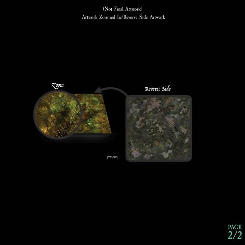 7-A207 Textured Swamp Water Terrain Tray Single Image 2 of 2