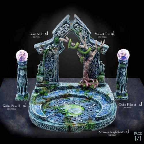 Moonlit Arch Resin Set Image