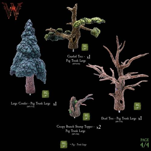 7-A177 Wildlands Trees - Mega Pack 4