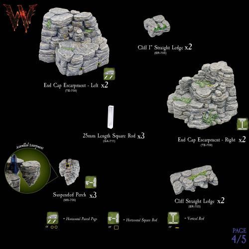 7-A173 Escarpments Megapack 4