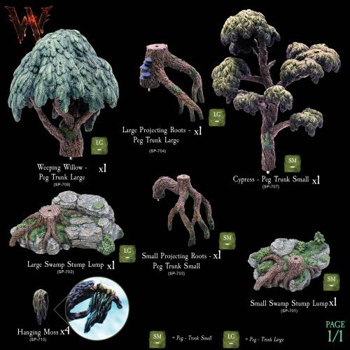 Swamp Trees Pack