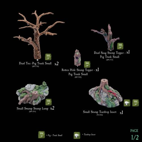 7-A115 Dead Trees Pack 1