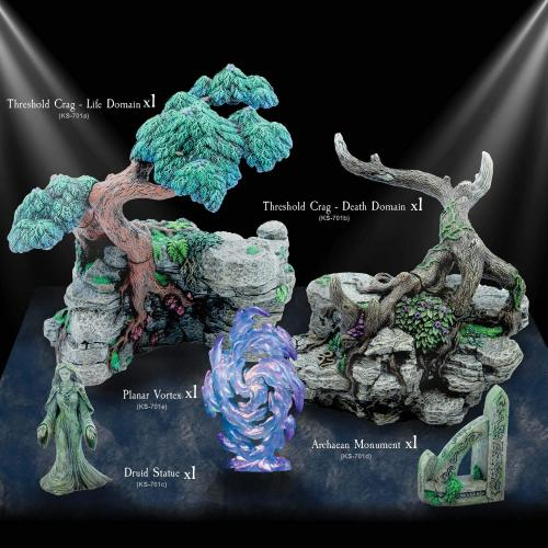 Threshold of the Wolrds Resin set