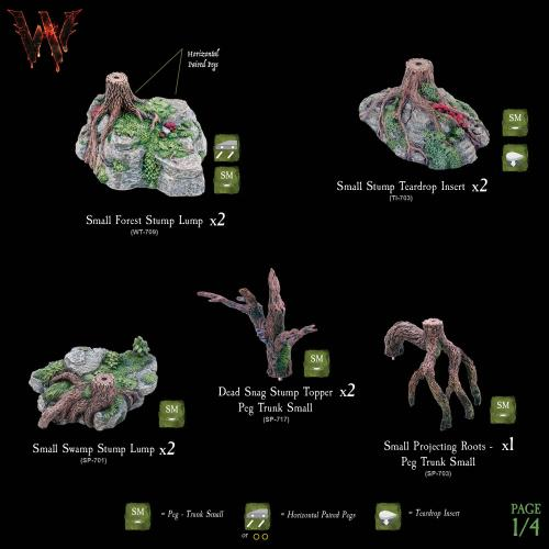 7-A177 Wildlands Trees - Mega Pack 1