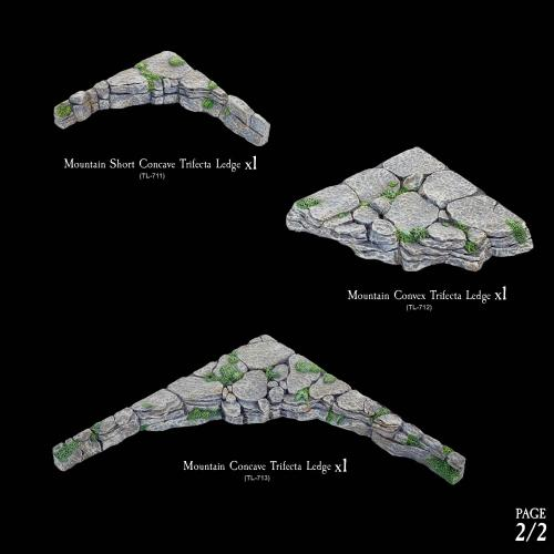 7-A104 Trifecta Ledges Companion Pack 2