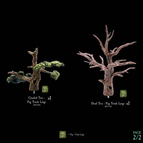 7-A188 Dying Forest Tree Toppers 2